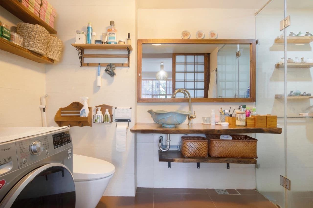 Nhà tập thể cũ lột xác không tưởng với phong cách Nhật Bản