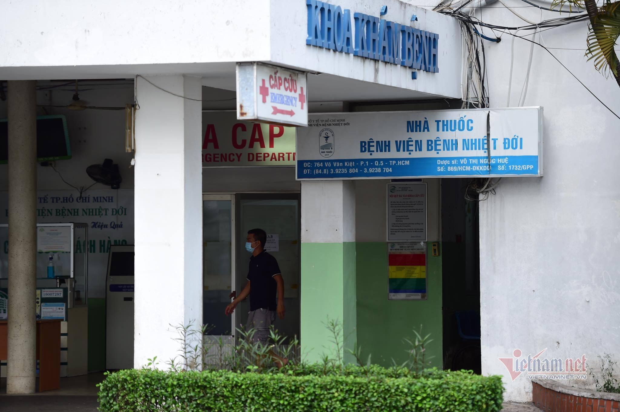 TP.HCM tạm thời phong tỏa Bệnh viện Bệnh nhiệt đới