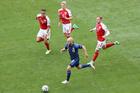 Đan Mạch 0-1 Phần Lan: Bất ngờ từ không chiến (H2)