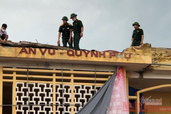Bão số 2 lướt qua gây thiệt hại tại Thái Bình, Hải Phòng