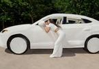 Kim Kardashian bọc lông cho siêu xe Lamborghini Urus