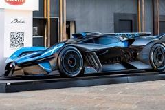 Siêu xe Bugatti Bolide lần đầu xuất hiện trên đường phố