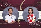 Trực tiếp Anh vs Croatia: Tam sư phục hận
