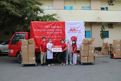 J&T Express nỗ lực tiếp sức cộng đồng chống dịch Covid-19