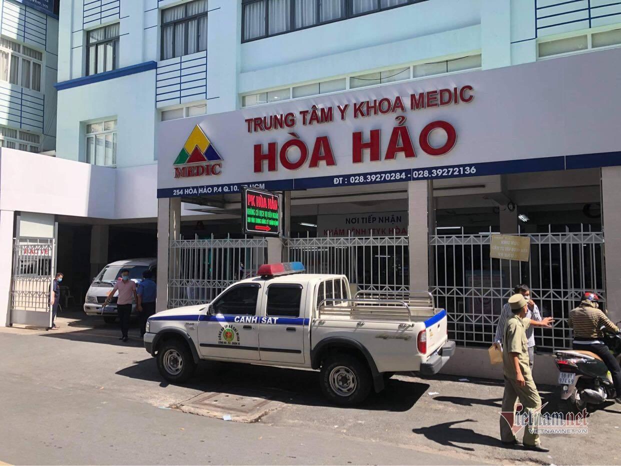 Hai người dương tính nCoV, Trung tâm Y khoa Hòa Hảo tạm ngưng nhận bệnh nhân