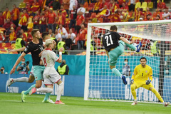 Áo 1-0 Bắc Macedonia: Bàn thắng đẳng cấp (H1)