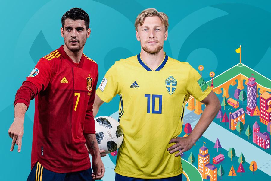 Tây Ban Nha 0-0 Thụy Điển: Morata đá chính (H1)
