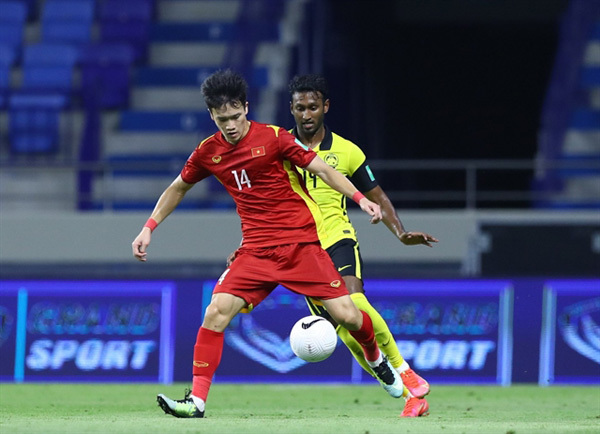 Midfielder takes chance to shine in Vietnam World Cup campaign