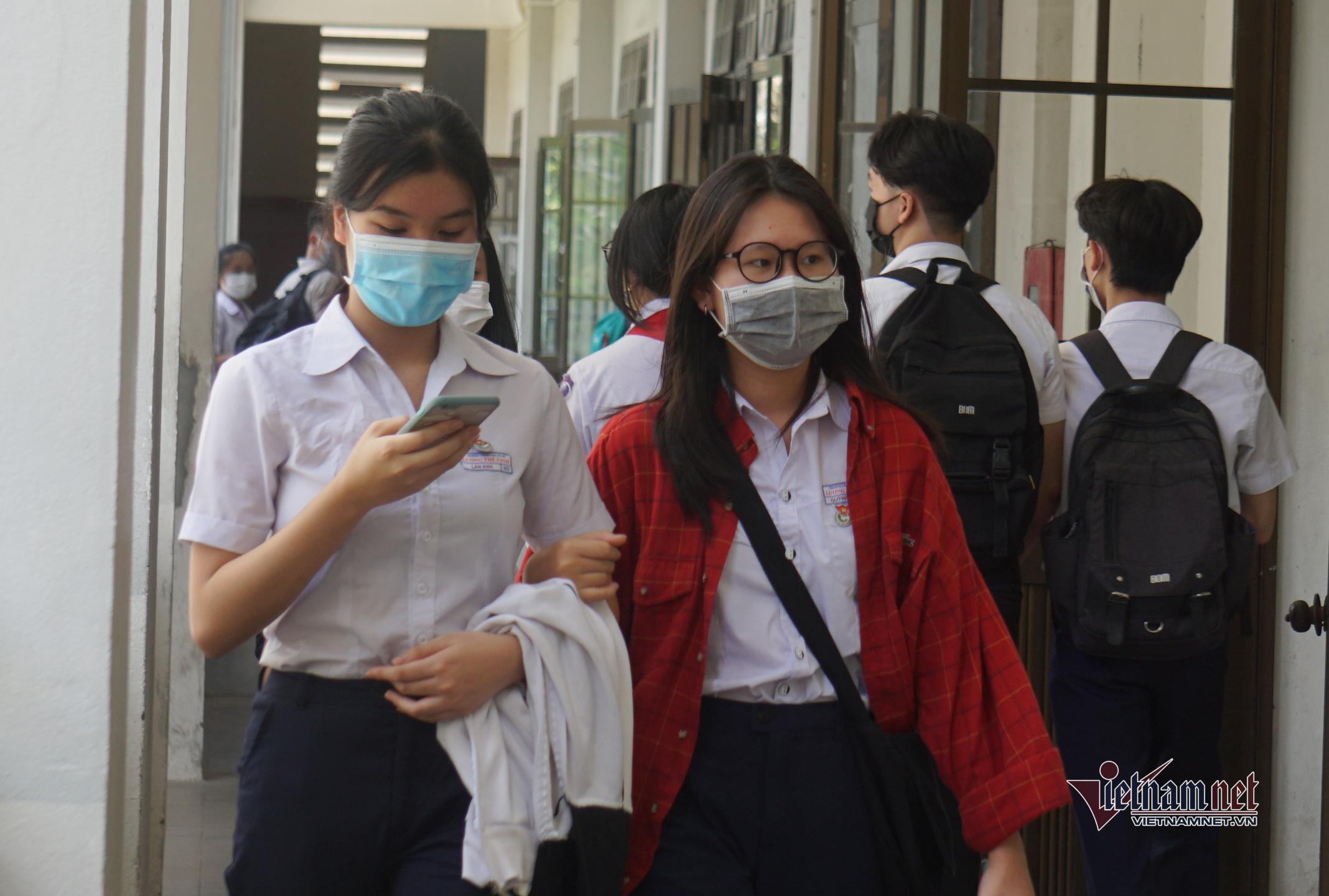 Học sinh tự tin trước ngày thi lớp 10 ở Đà Nẵng