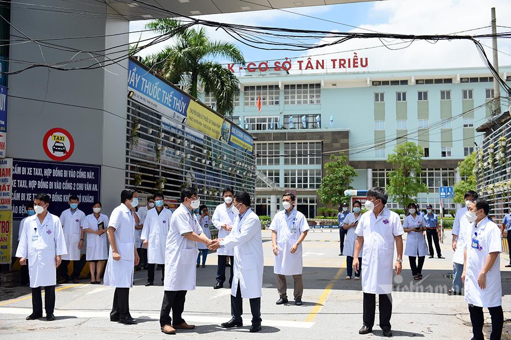 Bệnh viện K gỡ phong toả sau 37 ngày cách ly