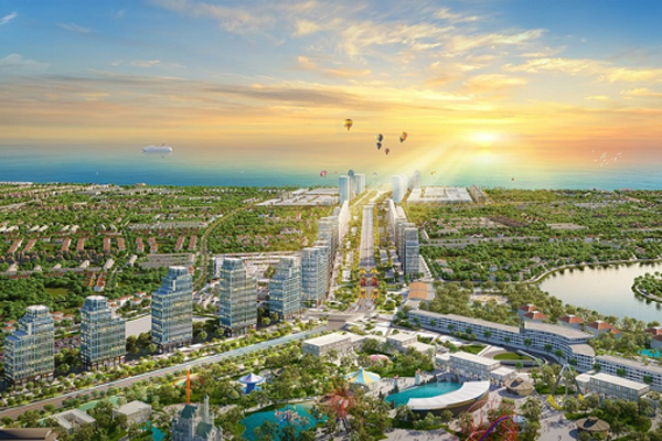 Đô thị phức hợp sở hữu tọa độ 'kim cương' giữa phố biển Sầm Sơn