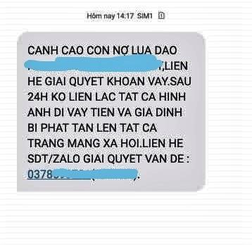 'Bán thận đi mà trả nợ': Tin nhắn khiến con nợ khiếp hãi