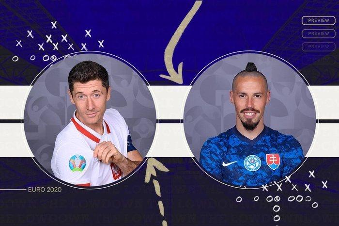 Trực tiếp Ba Lan vs Slovakia: Lewandowski đấu Hamsik