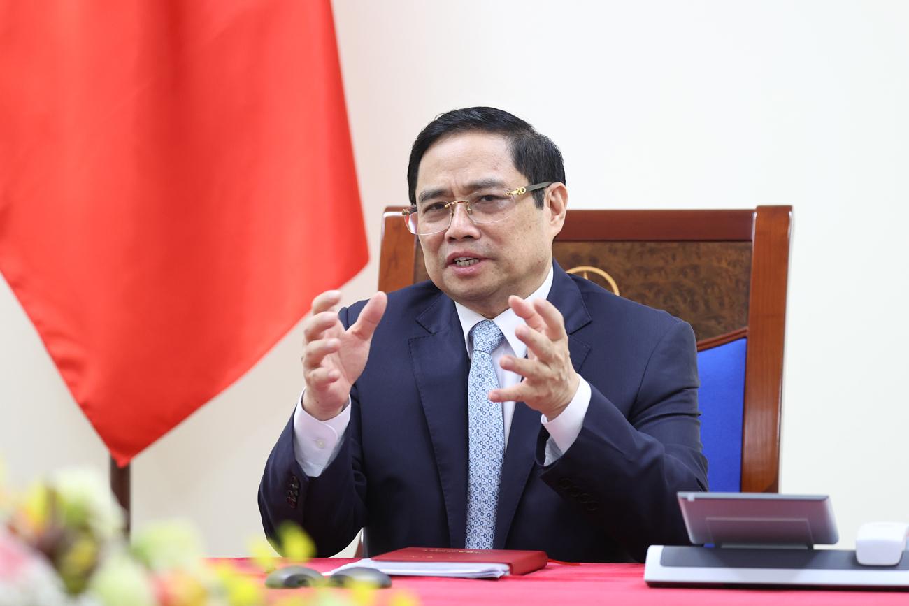 Thủ tướng Pháp khẳng định hỗ trợ Việt Nam trong chiến lược cung cấp vắc xin