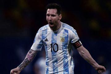 Xem 4 bàn thắng đẹp mắt của Messi tại Copa America 2021