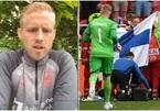 Kasper Schmeichel kể khoảnh khắc xúc động thăm Eriksen ở bệnh viện