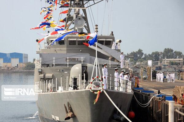 Iran tự chế tàu quét mìn và tàu khu trục