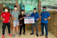 Nhóm thiện nguyện ủng hộ Bắc Giang gạo, quần áo bảo hộ chống dịch