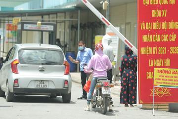 Bệnh viện Đức Giang ngừng nhận bệnh nhân, kiểm soát chặt ra vào