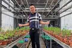 Vườn lan 130m2 giữa Hà thành