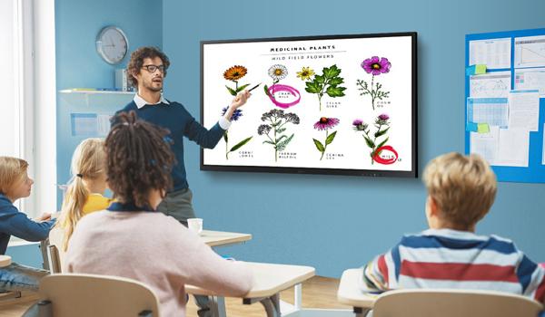 Công nghệ hiển thị - 'trợ thủ' đắc lực số hóa giáo dục