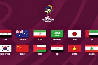 Xác định 12 đội vào vòng loại thứ 3 World Cup 2022 KV châu Á