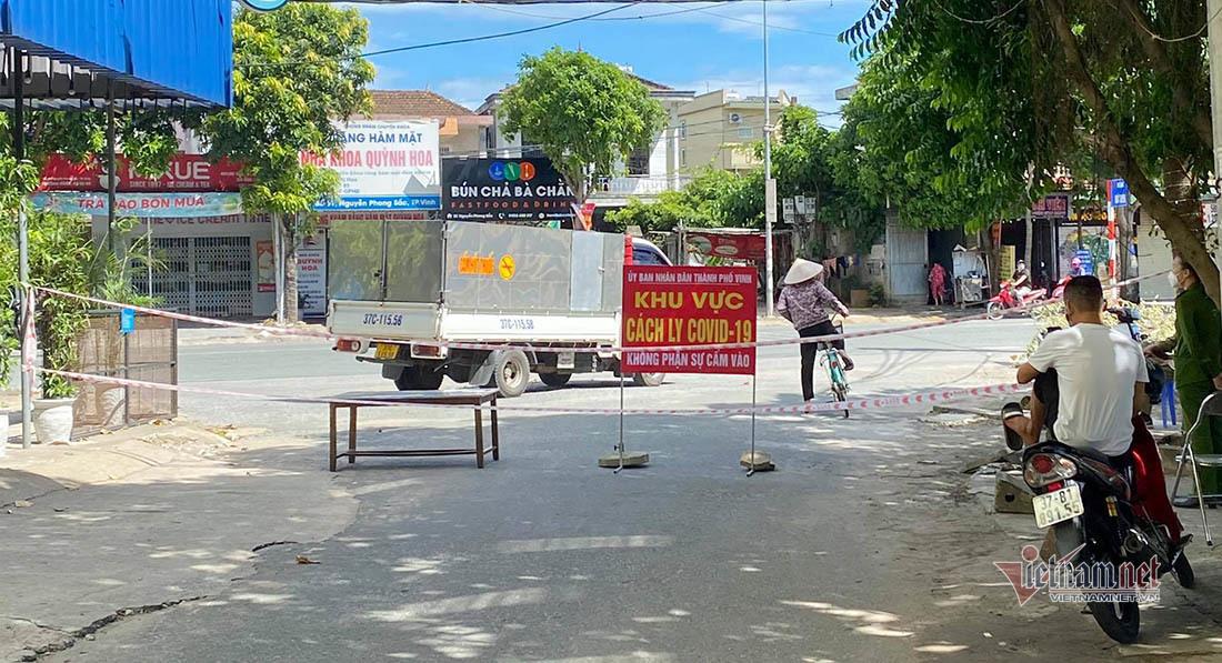 Nhân viên ngân hàng dương tính Covid-19 khiến F1 phát tán nhiều nơi ở Nghệ An