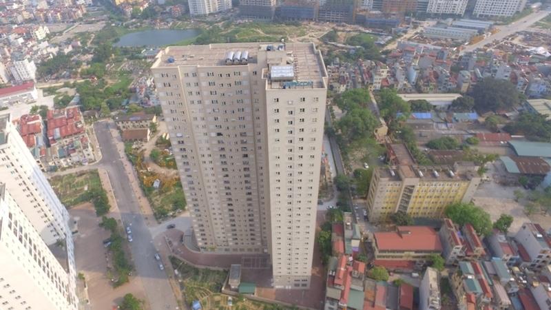 Chủ đầu tư cam kết chịu trách nhiệm về sai phạm ở chung cư Intracom 1
