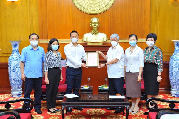 Tập đoàn Hyosung ủng hộ 32 tỷ đồng cho Quỹ phòng, chống Covid-19