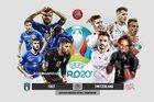 Italy 0-0 Thụy Sĩ: Đôi công siêu hấp dẫn (H1)