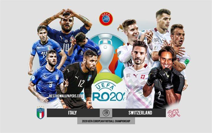 Trực tiếp Italy vs Thụy Sĩ: Thắng để lấy vé sớm