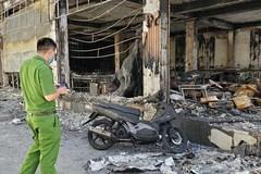 Công an Nghệ An thông tin thêm về nguyên nhân cháy phòng trà, 6 người tử vong