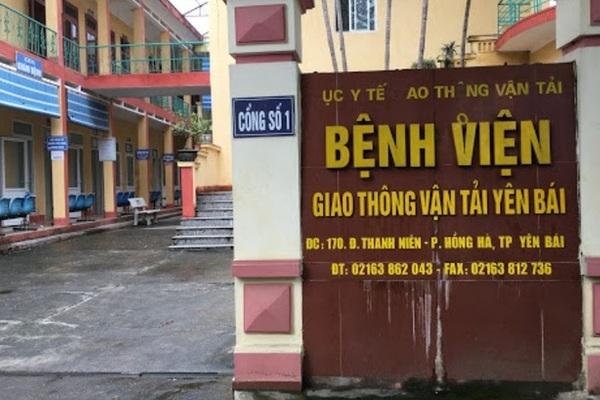 Giám đốc Bệnh viện Giao thông vận tải Yên Bái bị bắt tạm giam