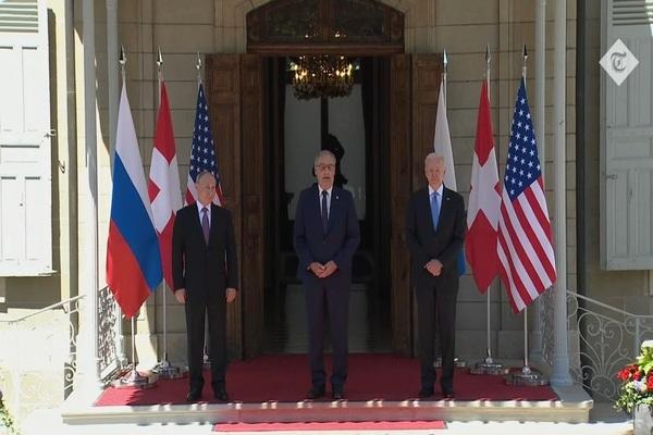 Lãnh đạo Nga-Mỹ chụp ảnh chung, bắt đầu tiến hành hội đàm