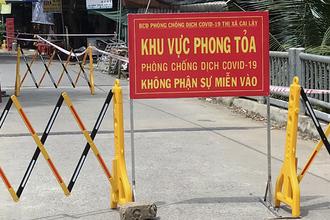 Khởi tố vụ án làm lây lan dịch Covid-19 ở thị xã Cai Lậy