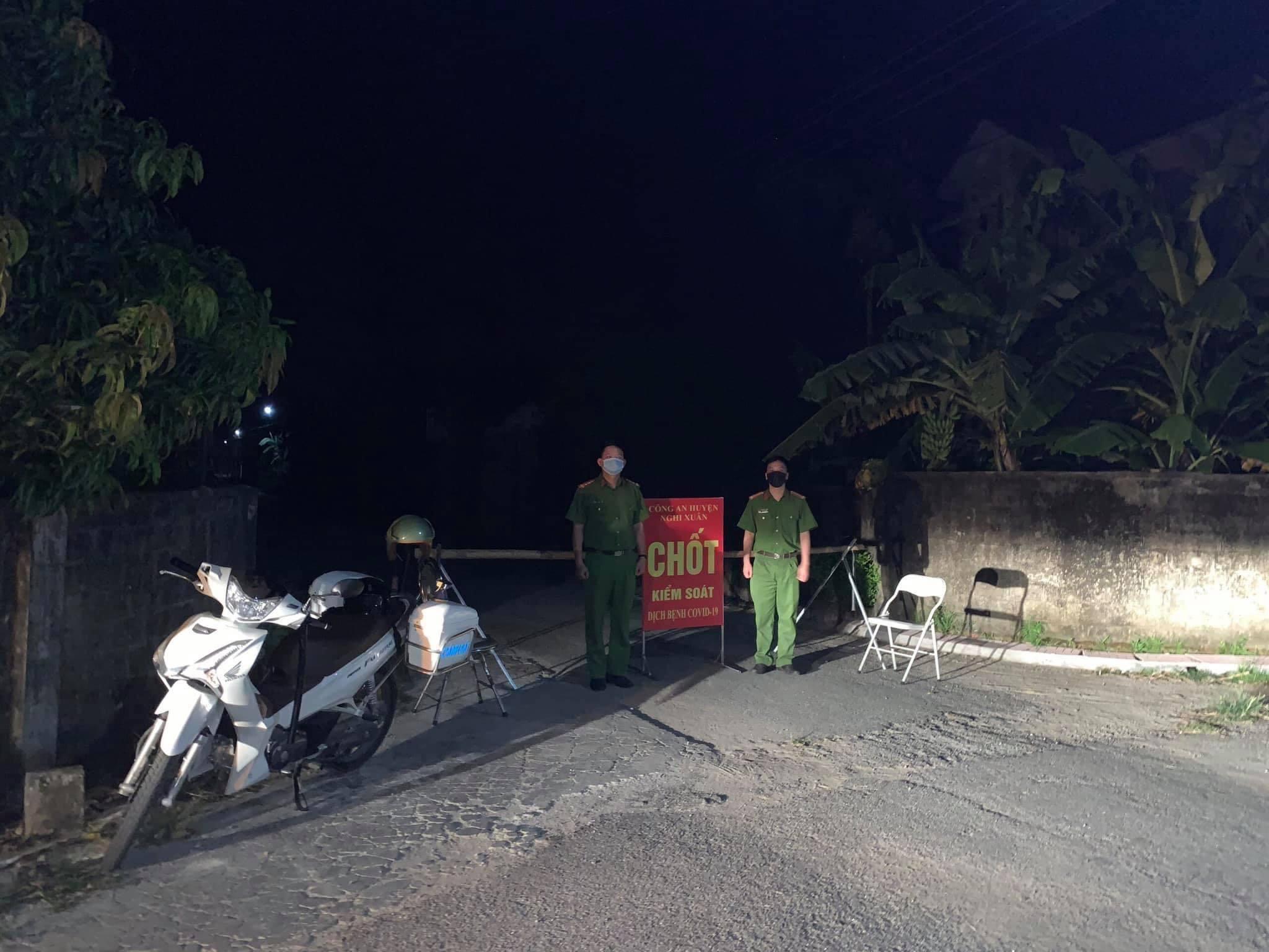 Xuất hiện ca nhiễm Covid-19 mới, Hà Tĩnh phong tỏa 2 thôn