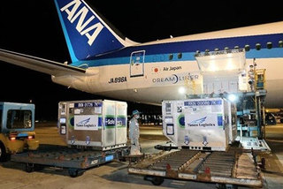 Batch of COVID-19 vaccine donated by Japan arrives in Vietnam