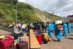 Hà Tĩnh tạm dừng tiếp nhận công dân từ Lào về qua cửa khẩu Cầu Treo