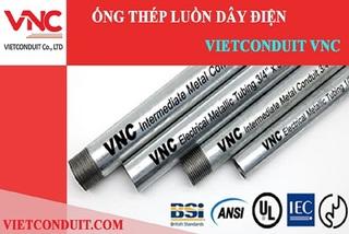 Ống thép luồn dây điện Vietconduit 'ghi điểm' tại nhiều công trình