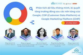 Sắp diễn ra hội thảo trực tuyến về nền tảng marketing của Google