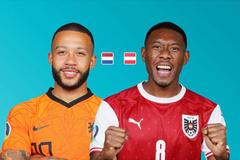 Trực tiếp Hà Lan vs Áo: Bữa tiệc bóng đá tấn công