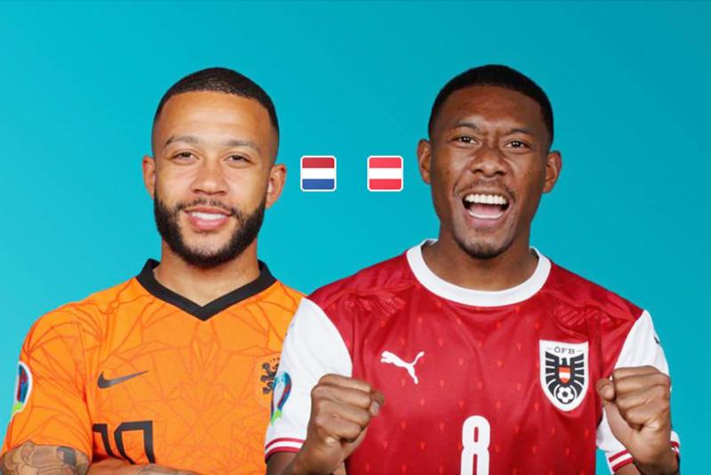 Trực tiếp Hà Lan vs Áo: De Ligt đá chính