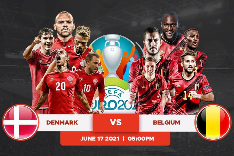 Link xem trực tiếp Đan Mạch vs Bỉ, 23h ngày 17/6