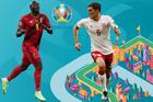 Đan Mạch 1-0 Bỉ: Bàn thắng sớm (H1)