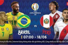 Brazil 1-0 Peru: Sandro mở tỷ số sớm (H1)
