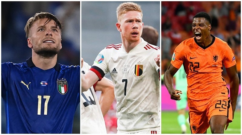 Xác định 3 đội đầu tiên giành vé vào vòng 1/8 EURO 2020
