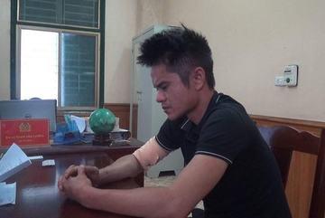Cướp tiền không được quay sang sàm sỡ cô gái ở Phú Thọ