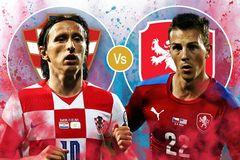 Trực tiếp Croatia vs CH Séc: Gian nan tỏ mặt anh hùng