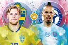Trực tiếp Thụy Điển vs Slovakia: Đội hình ra sân mạnh nhất