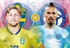 Trực tiếp Thụy Điển vs Slovakia: Khó có bất ngờ